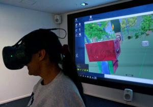 Pedagog kör VR