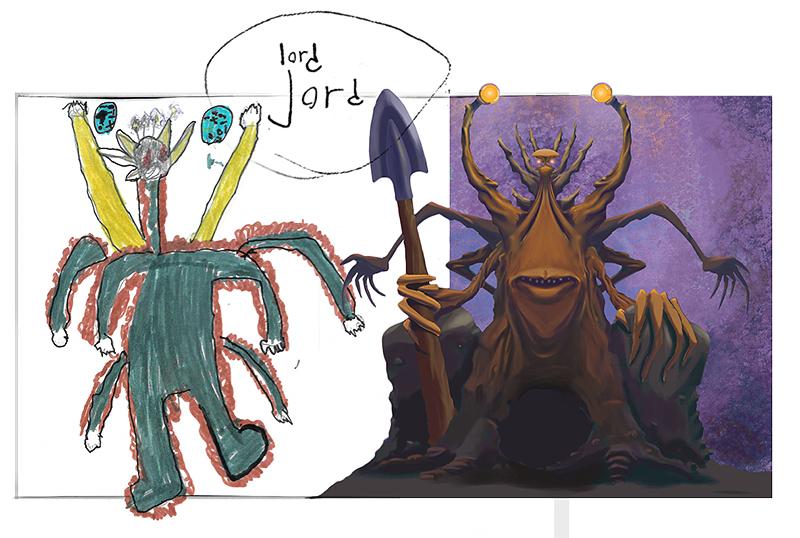 Lord Jord förlaga och tolkning